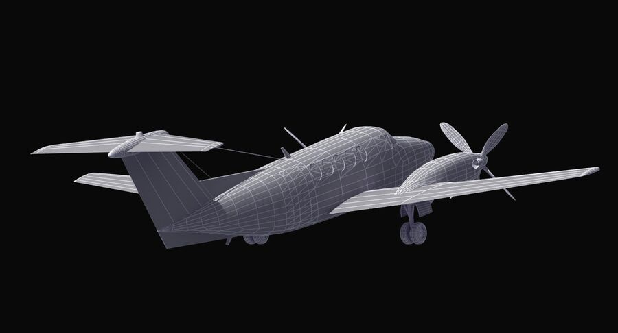 C-12休伦 royalty-free 3d model - Preview no. 37