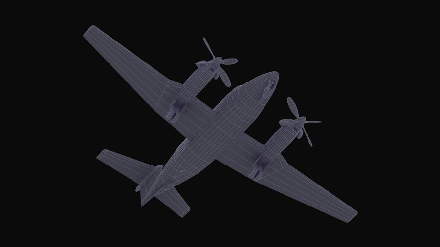 C-12休伦 royalty-free 3d model - Preview no. 59