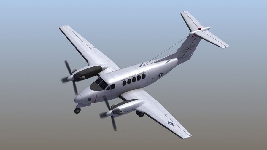 C-12休伦 royalty-free 3d model - Preview no. 2