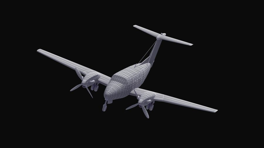 C-12休伦 royalty-free 3d model - Preview no. 13