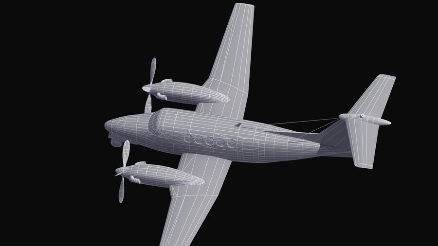C-12休伦 royalty-free 3d model - Preview no. 60