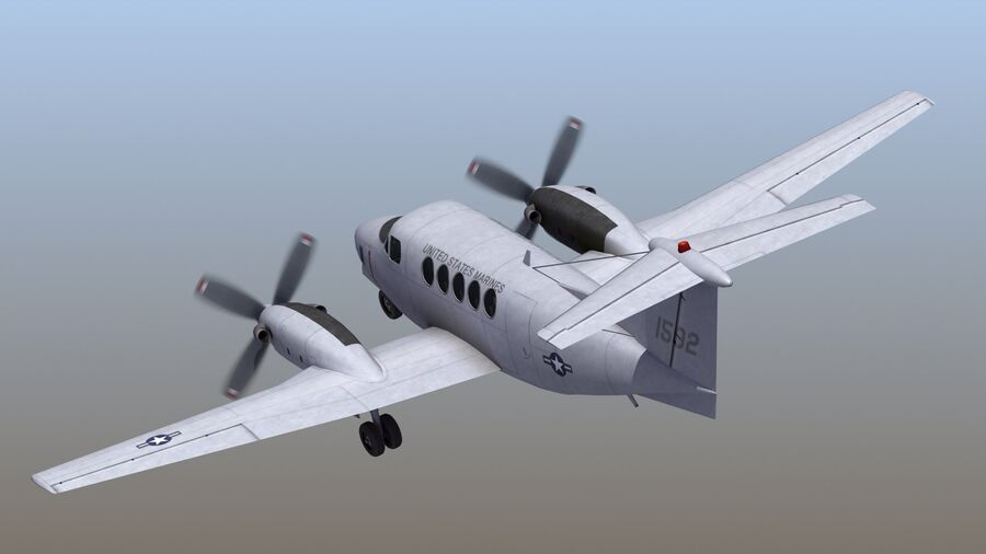 C-12休伦 royalty-free 3d model - Preview no. 57