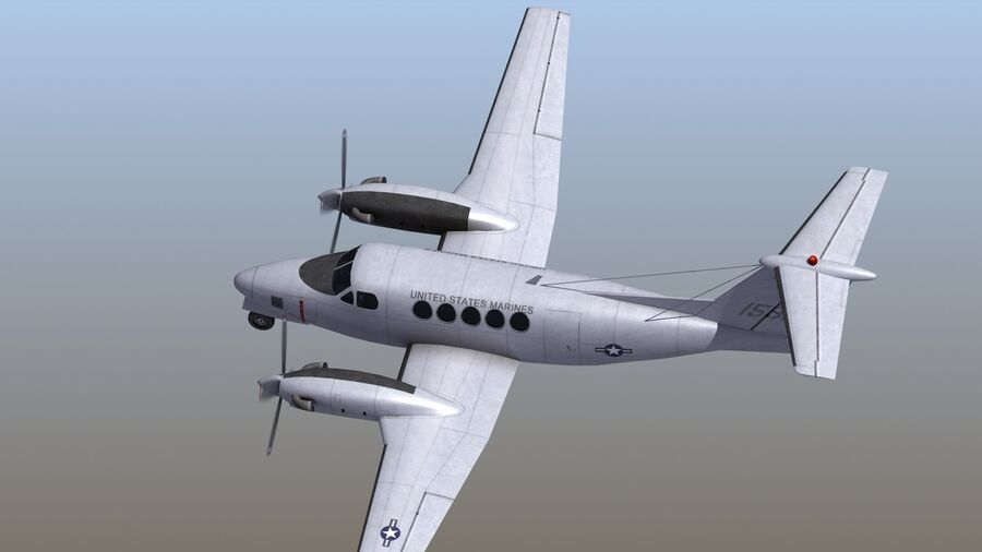 C-12休伦 royalty-free 3d model - Preview no. 55