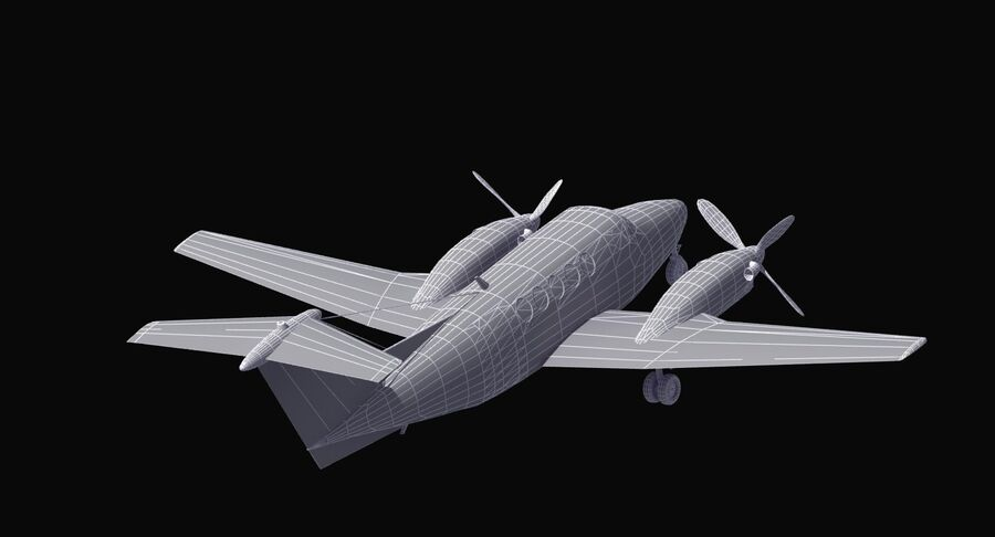 C-12休伦 royalty-free 3d model - Preview no. 43