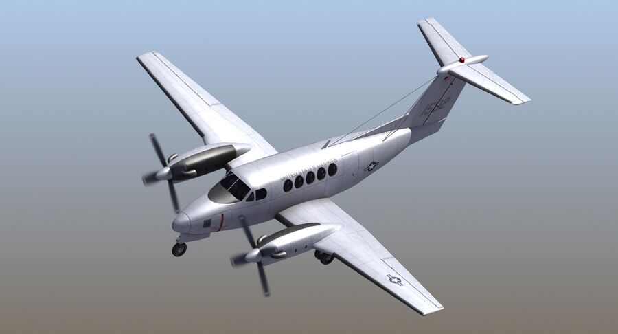 C-12休伦 royalty-free 3d model - Preview no. 21
