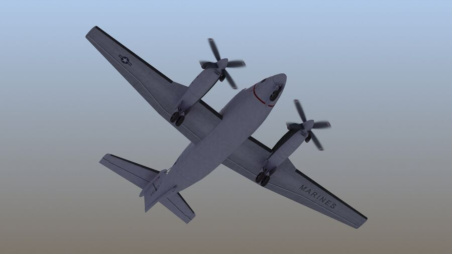 C-12休伦 royalty-free 3d model - Preview no. 54