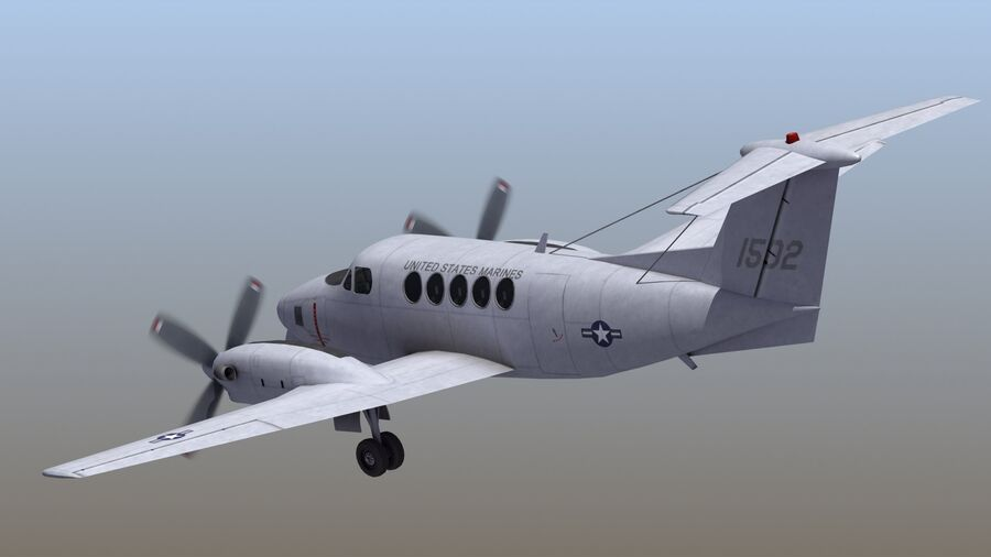 C-12休伦 royalty-free 3d model - Preview no. 5