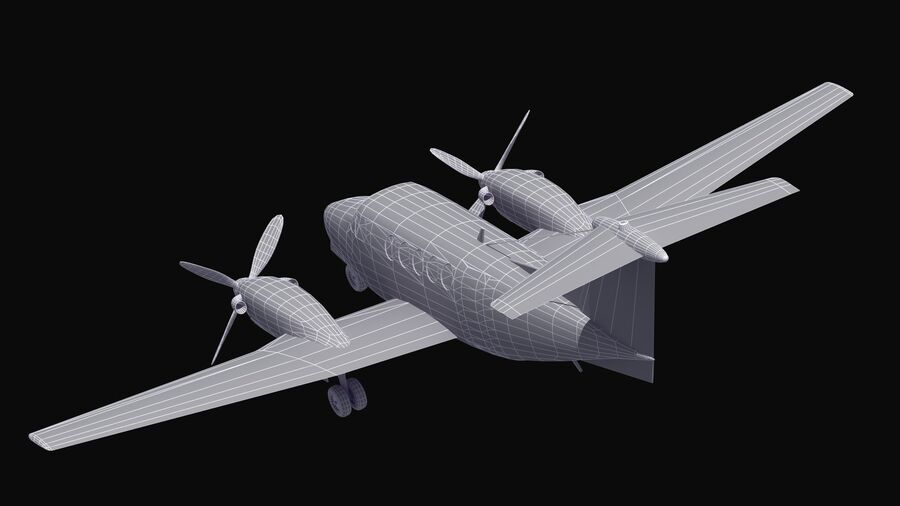C-12休伦 royalty-free 3d model - Preview no. 61