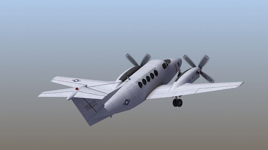 C-12休伦 royalty-free 3d model - Preview no. 53