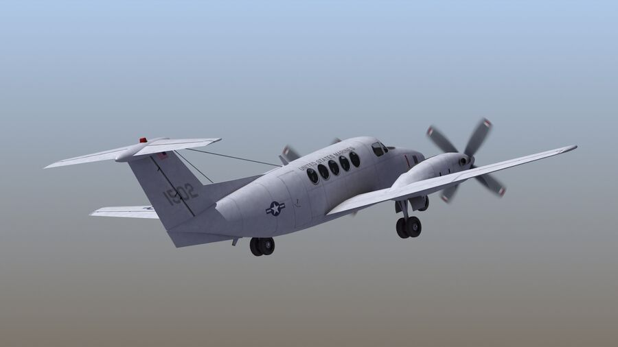 C-12休伦 royalty-free 3d model - Preview no. 58