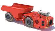 Underground Mining Truck Sandvik TH663 3d model