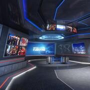 VR Studio Breaking News 3d model