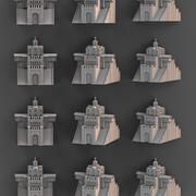 Golden Gate in Kyiv 3d model