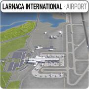 ラルナカ国際空港(LCA) 3d model