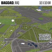 Bagdad Irak 3d model
