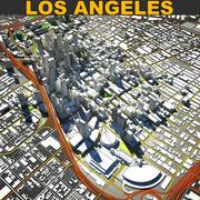 ロサンゼルスのダウンタウン 3d model