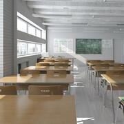 Klassenzimmer 3 3d model