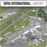ソフィア国際空港-SOF 3d model