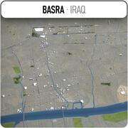 Bassora - ville et environs 3d model