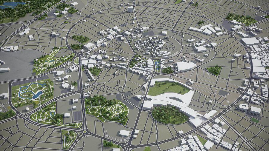 Erbil - Stadt und Umgebung royalty-free 3d model - Preview no. 3