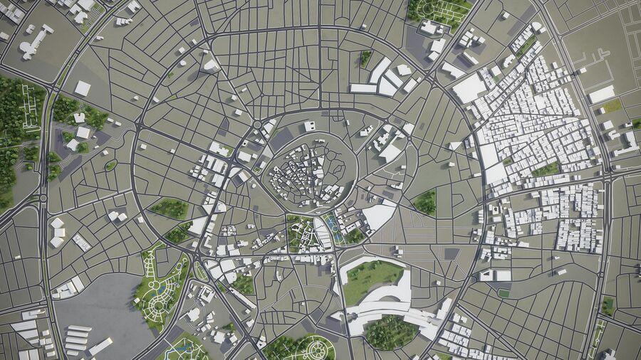 Erbil - Stadt und Umgebung royalty-free 3d model - Preview no. 9