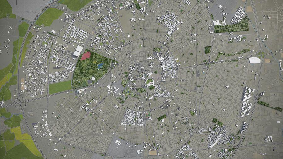 Erbil - Stadt und Umgebung royalty-free 3d model - Preview no. 10