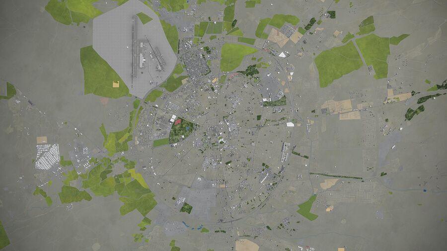 Erbil - Stadt und Umgebung royalty-free 3d model - Preview no. 11