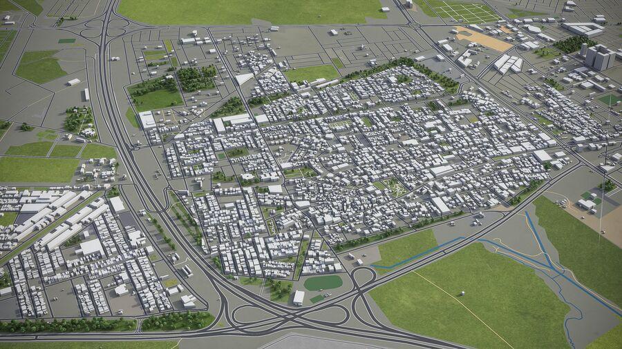 Erbil - Stadt und Umgebung royalty-free 3d model - Preview no. 8
