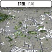 Erbil - Stadt und Umgebung 3d model