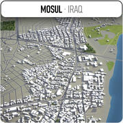 Mosul - Stadt und Umgebung 3d model