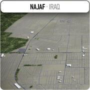 Najaf - ville et environs 3d model