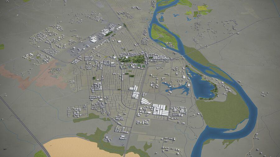 Tikrit - ville et environs royalty-free 3d model - Preview no. 2