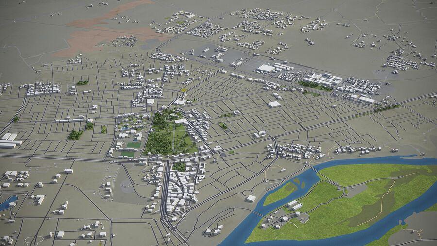 Tikrit - ville et environs royalty-free 3d model - Preview no. 6