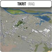 Tikrit - Stadt und Umgebung 3d model