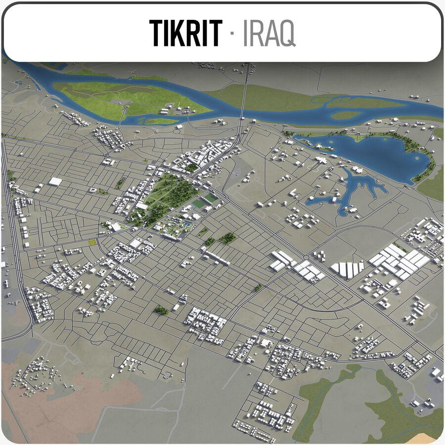 Tikrit - ville et environs royalty-free 3d model - Preview no. 1
