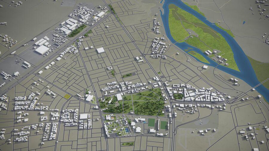 Tikrit - ville et environs royalty-free 3d model - Preview no. 8