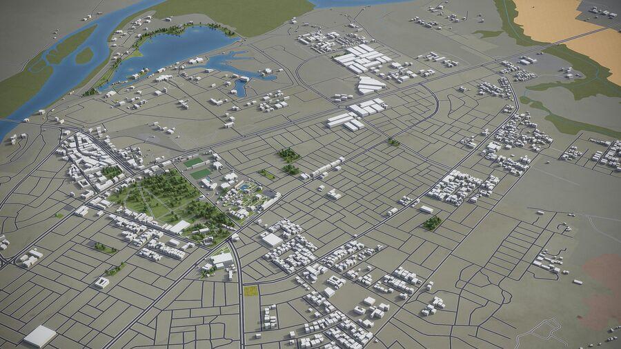 Tikrit - ville et environs royalty-free 3d model - Preview no. 9