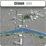 イスファハン-都市とその周辺 3d model
