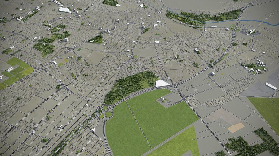 Karaj - ville et environs royalty-free 3d model - Preview no. 5