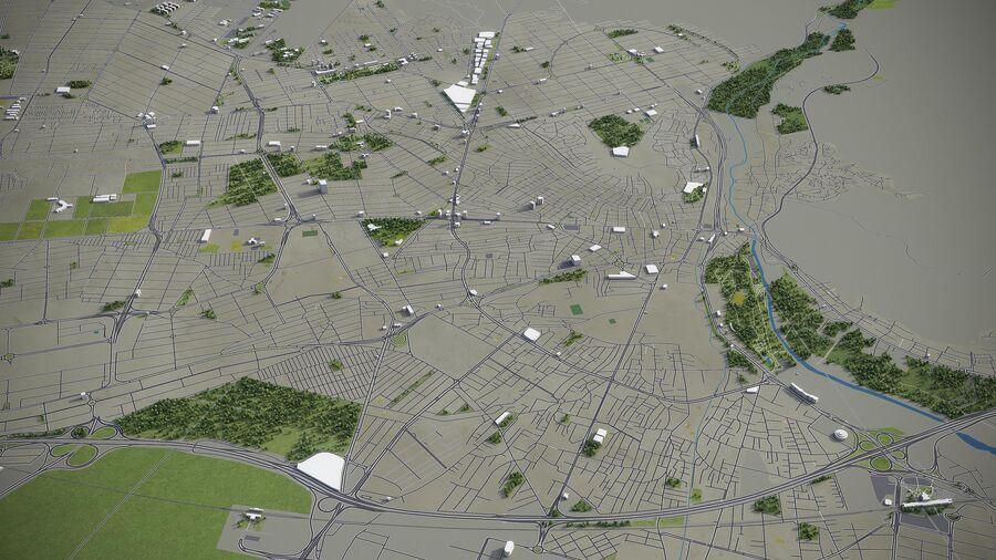 Karaj - ville et environs royalty-free 3d model - Preview no. 6