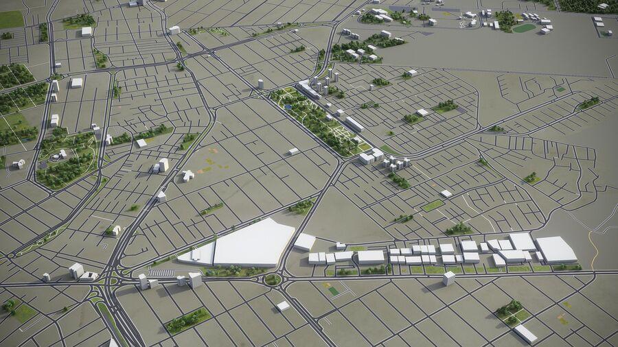 Karaj - ville et environs royalty-free 3d model - Preview no. 4
