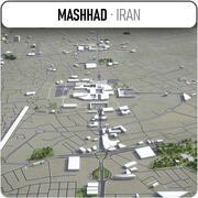 Mashhad - Stadt und Umgebung 3d model
