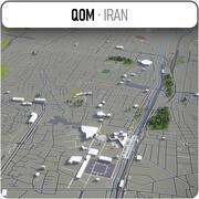 Qom-都市とその周辺 3d model
