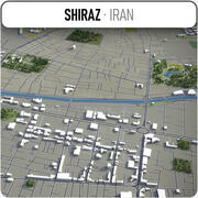 Shiraz - stad en omgeving 3d model