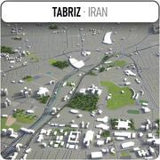 タブリーズ-都市とその周辺 3d model