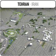 Téhéran - ville et environs 3d model