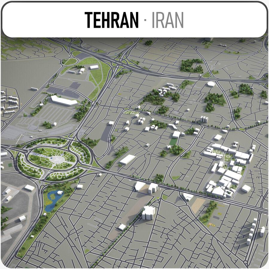 Téhéran - ville et environs royalty-free 3d model - Preview no. 1