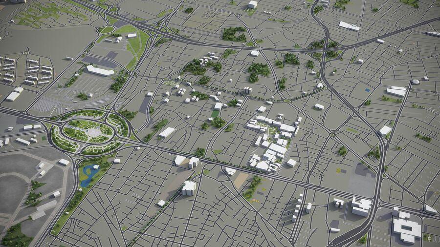 Téhéran - ville et environs royalty-free 3d model - Preview no. 4
