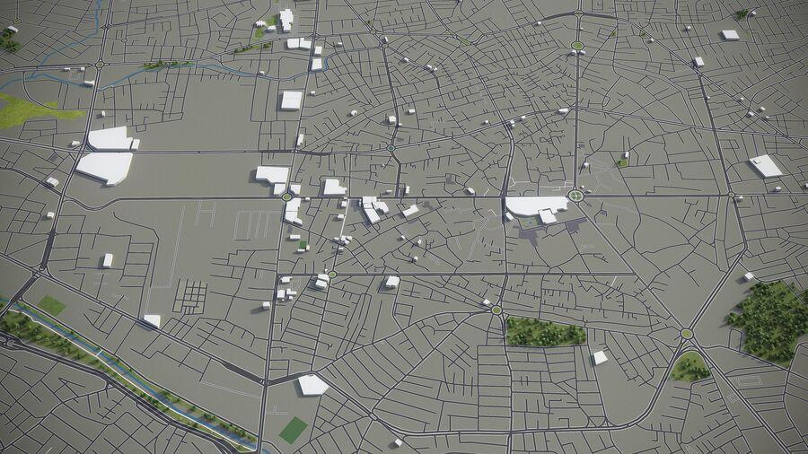 Urmia - Stadt und Umgebung royalty-free 3d model - Preview no. 5