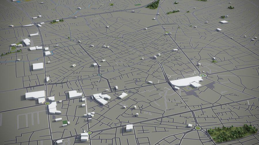 Urmia - Stadt und Umgebung royalty-free 3d model - Preview no. 2